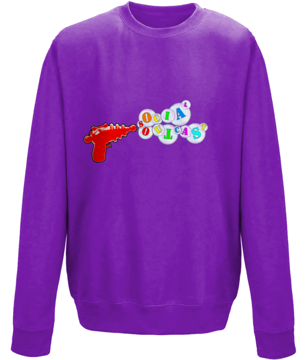 Ray Gun Purple Sweat