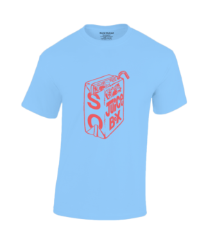 Strawberry Juice Box Blue Tee